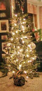 Paris Christmas Tree